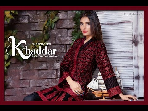 2374c7b140 Gul Ahmed Latest Winter Collection 2018 with Prices - YouTube