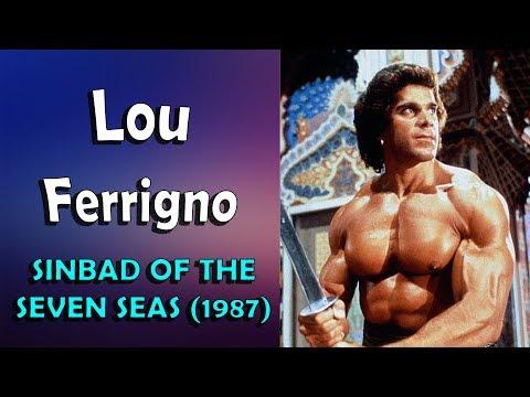 LOU FERRIGNO  Sinbad of the seven seas 1987