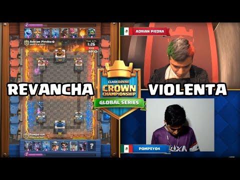 ¡ ¡ POMPEYO VS ADRIAN PIEDRA: REVANCHA EN LA CCGS: ! ! | KManuS88