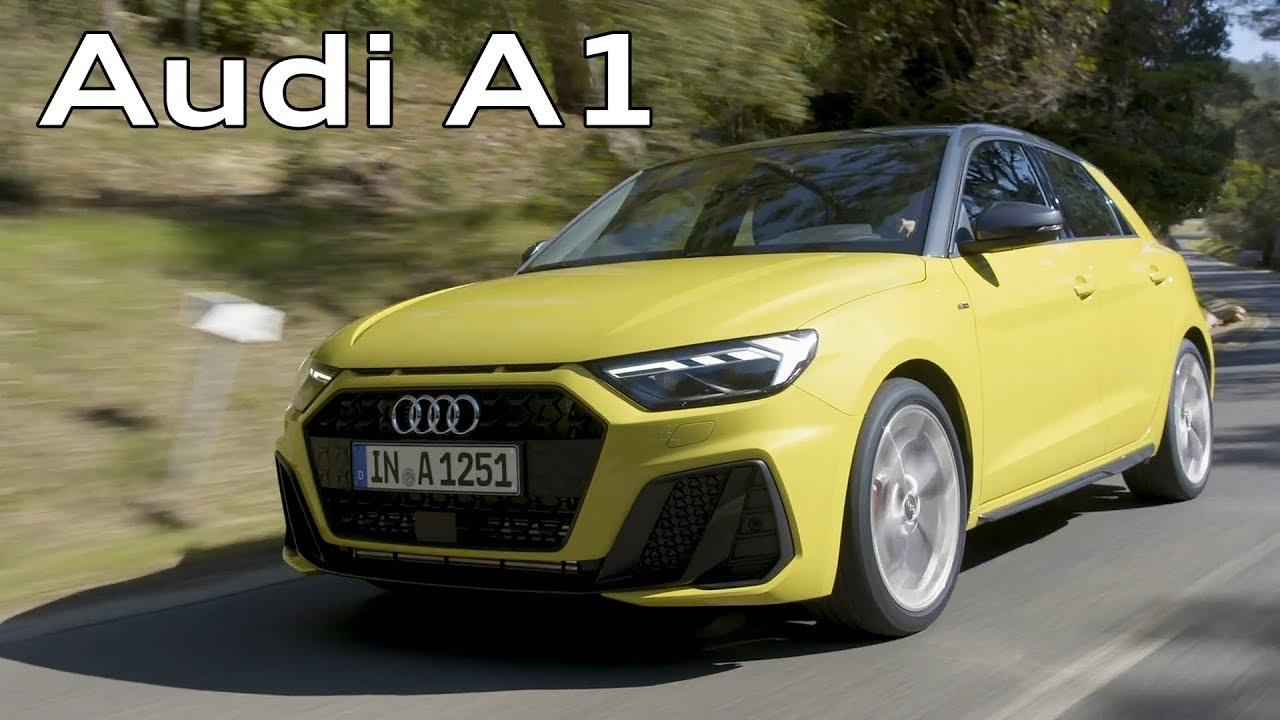 2019 Audi A1 Sportback Driving Interior Exterior Python