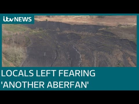Landslides In South Wales Leave Locals Fearing 'another Aberfan' | ITV News