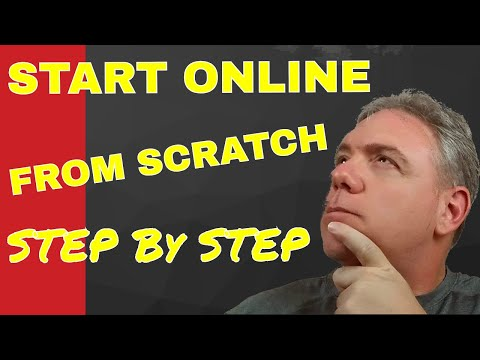 Start Online From Scratch [Step By Step]