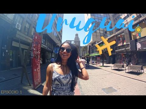 Vlog do Uruguai (Montevidéu) - Episódio 01: A Chegada   Letreiro  Shopping   Mercado del puerto