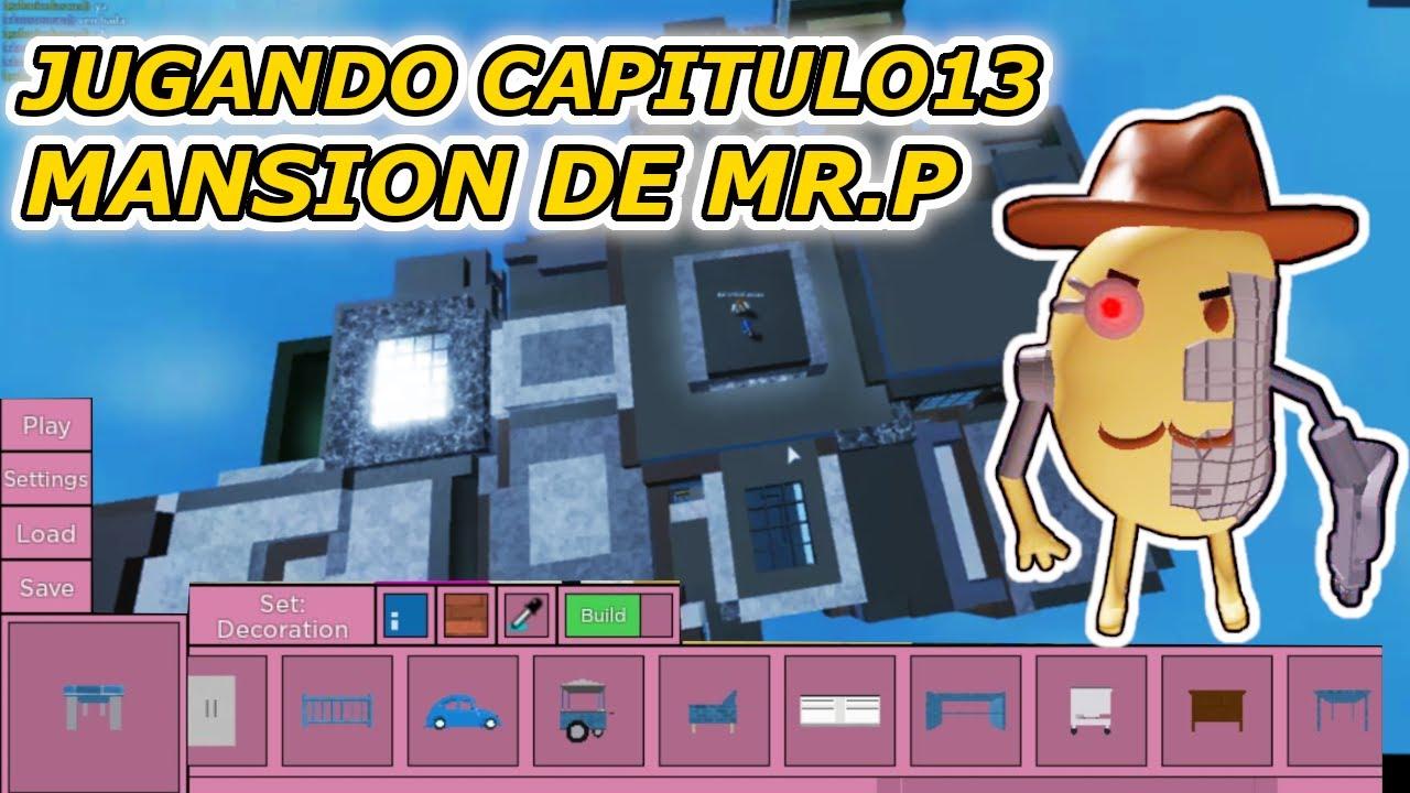CAPITULO 13 PIGGY ROBLOX MANSION DE MR.P NUEVO MODO EN PIGGY ROBLOX CREA TU PROPIO MAPA PIGGY ROBLOX