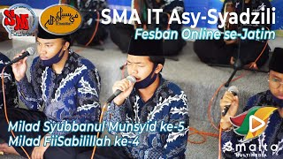 Download 49. Terbaik II | SMA IT Asy-Syadzili - Malang (Fesban Online 2021 Harlah Syubbanul Munsyid ke 5)