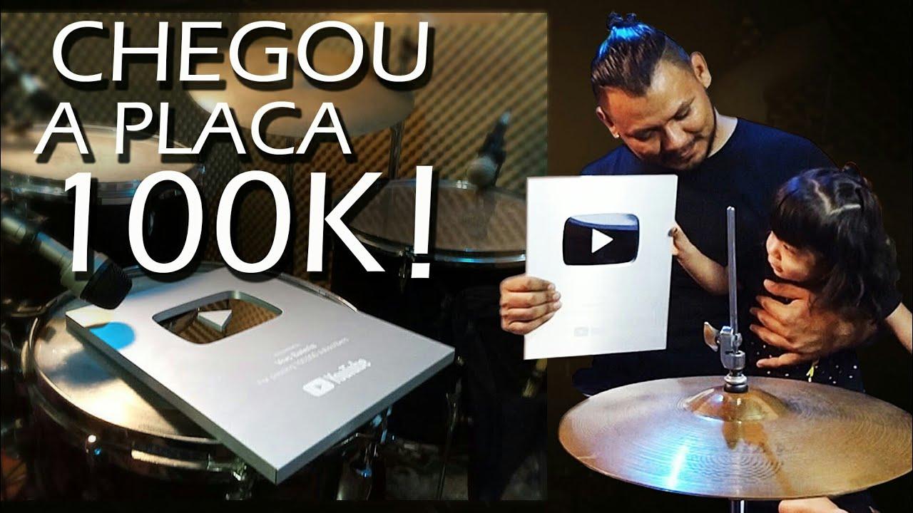 CHEGOU A PLACA DE 100K!