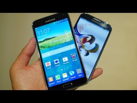 Samsung Galaxy S5 vs Galaxy S4 quick look (MWC 2014)