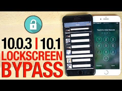 iOS 10 Lockscreen Bypass Backdoor! Access Photos & Contacts