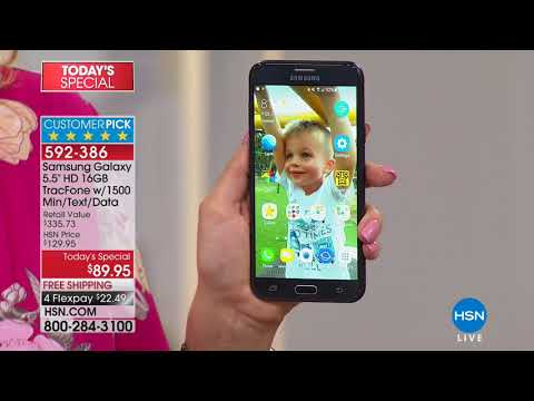 HSN   Electronic Connection Featuring Samsung Tracfone 04.01.2018 - 07 PM