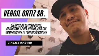 """ORTIZ  SR. GOES OFF! """"VERGIL FLATLINES KEITH THURMAN!"""" WANTS ONE MORE FIGHT BEFORE CRAWFORD."""