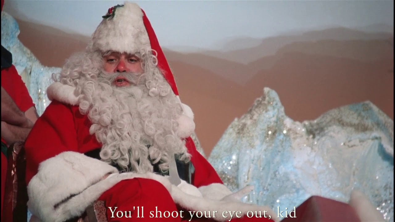 Christmas Story - You'll shoot your eye out, kid - YouTube