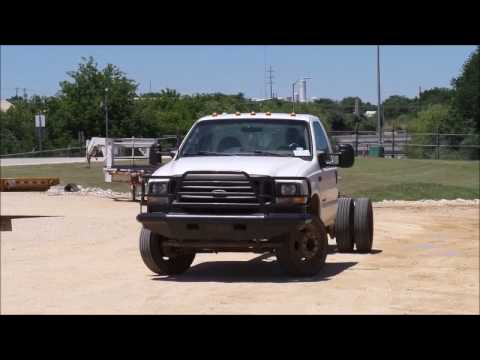 2002 Ford F550 truck cab and chassis for sale   no-reserve Internet auction June 21, 2017