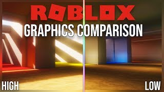 ROBLOX Graphics Comparison (Voxel lighting)