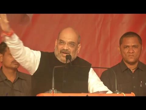 Shri Amit Shah addresses public meeting in Dwarka, Gujarat : 06.12.2017