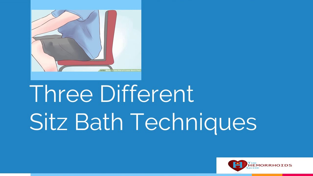 Sitz Bath - Easiest Way to Cure Hemorrhoids - YouTube