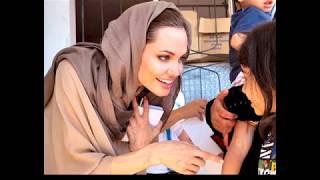 Искренняя красота Анджелины Джоли и ее персонаж второй реальности-Лара Крофт.
