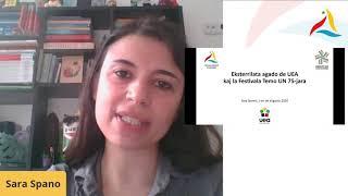 VK 2020: UN 75-jara: Eksterrilata agado de UEA kaj la Festivala Temo UN 75-jara