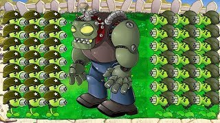 Gatling Pea vs Dr. Zomboss Epic Hack PvZ