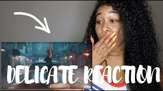 TAYLOR SWIFT DELICATE REACTION!!! FIRST IMPRESSIONS