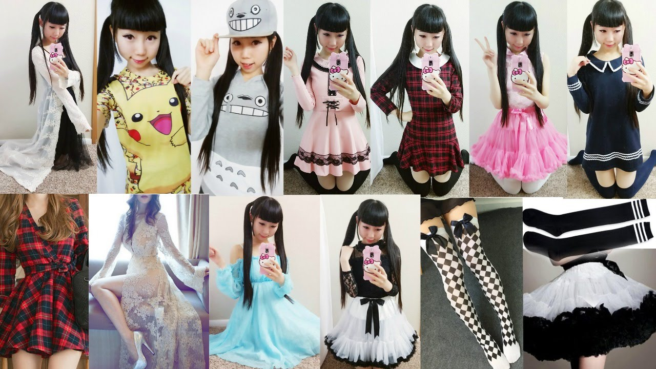 Back To School Lookbook 2016 Anime Inspired Outfits And