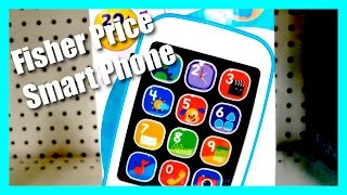 Fisher Price Laugh and Learn Smart Phone - Over 20 Songs and Phrases
