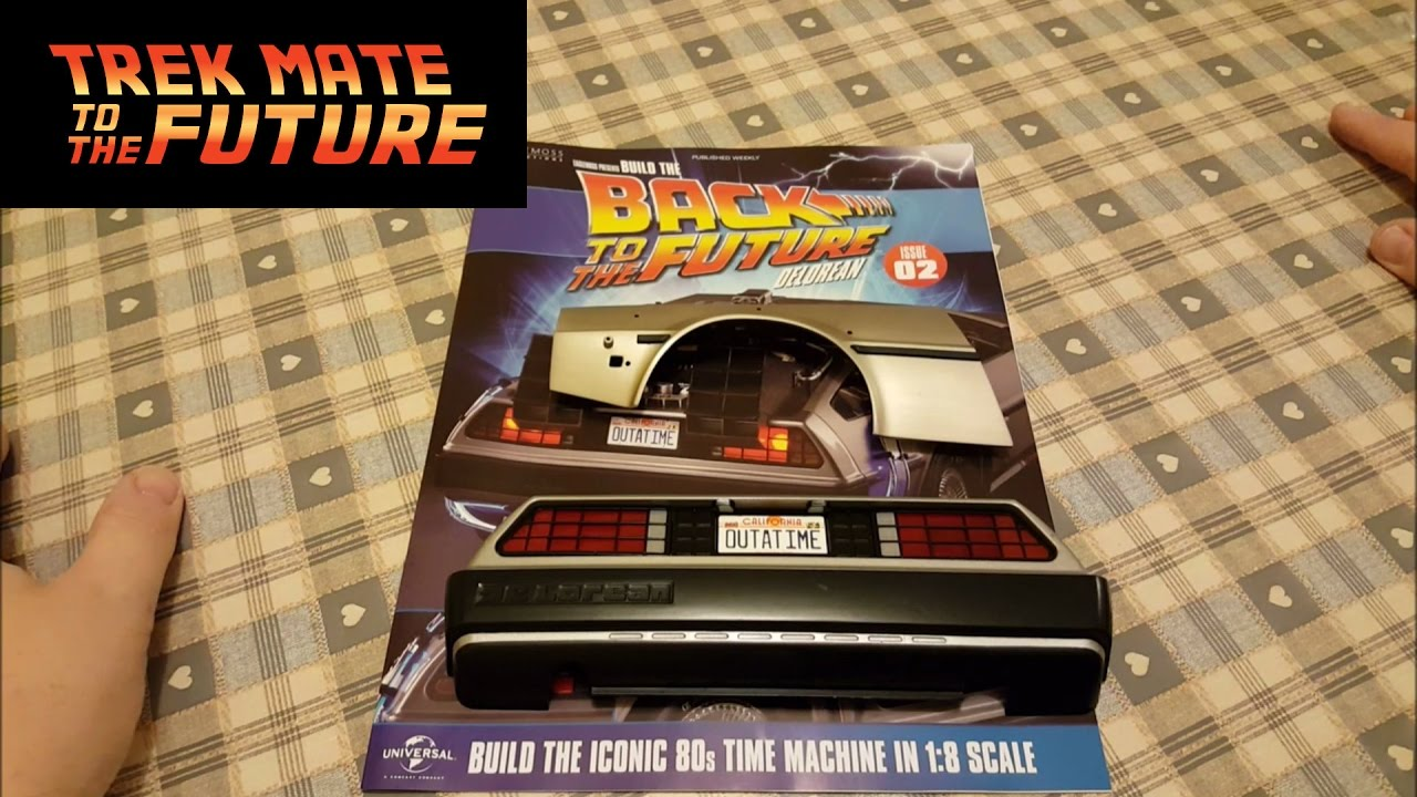 build the back to the future delorean issue 2 from