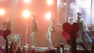 Backstreet Boys - As long as you love me + flashmob live in Minsk, Belarus 24.02.2014