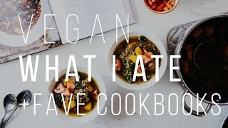 WHAT I ATE TODAY + MY FAVOURITE COOKBOOKS | Good Eatings