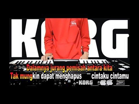 Karaoke Kunanti Di Pintu Surga  No Vokal Lirik Cover Keyboard