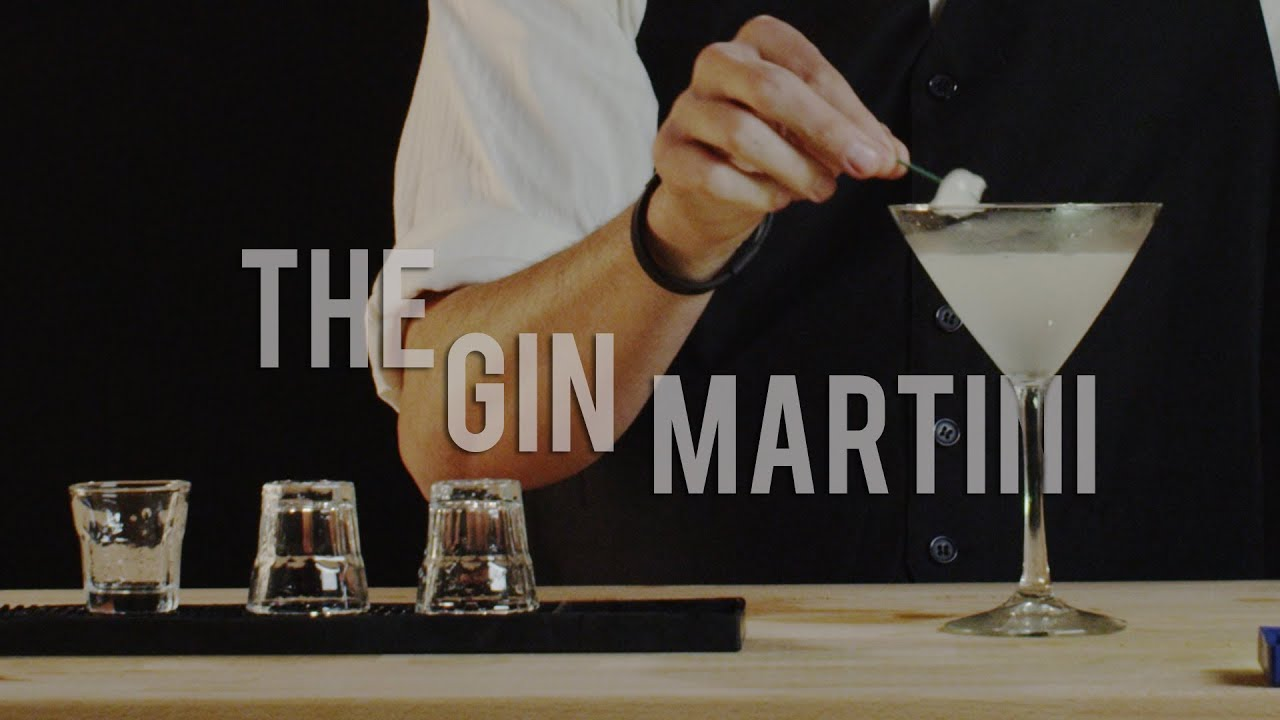 how to make martini drink