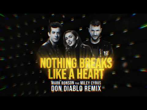 download Mark Ronson ft. Miley Cyrus - Nothing Breaks Like A Heart (Don Diablo Remix)