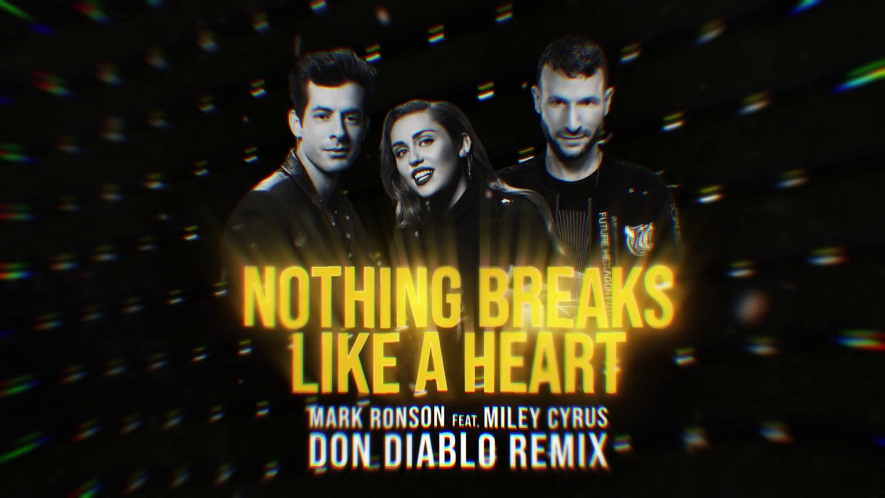 Mark Ronson ft. Miley Cyrus - Nothing Breaks Like A Heart (Don Diablo Remix) image