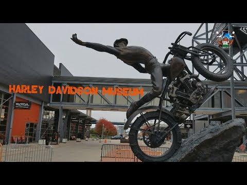 WORLD RIDE 2017 || EP. 94 || HARLEY DAVIDSON MUSEUM, USA