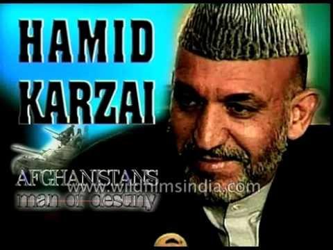 Hamid Karzai of Afghanistan