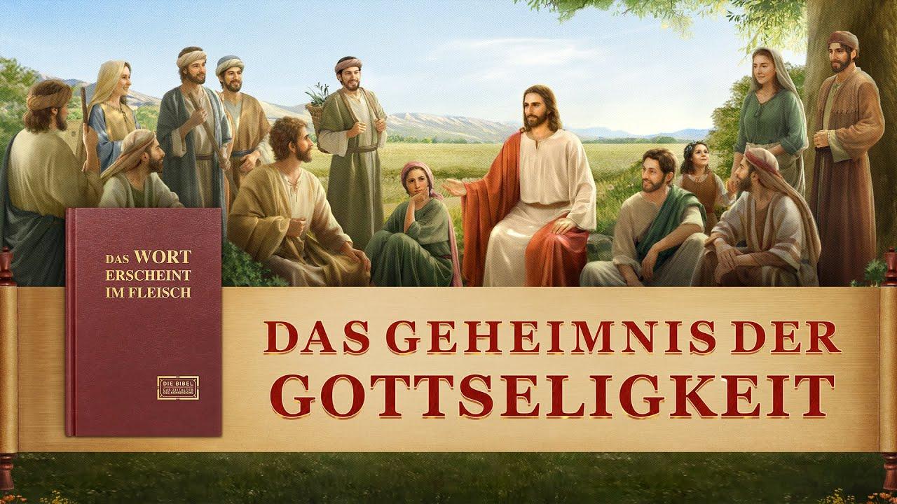 """Das Evangelium der Ankunft Jesu   Christlicher Film   """"Das Geheimnis der Gottseligkeit"""""""