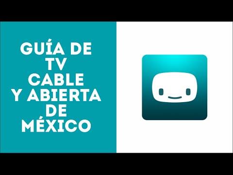 Guia de TV para México Abierta y Cable   TecnoTutosTv