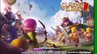 Gameplay ita clash of clans # 1