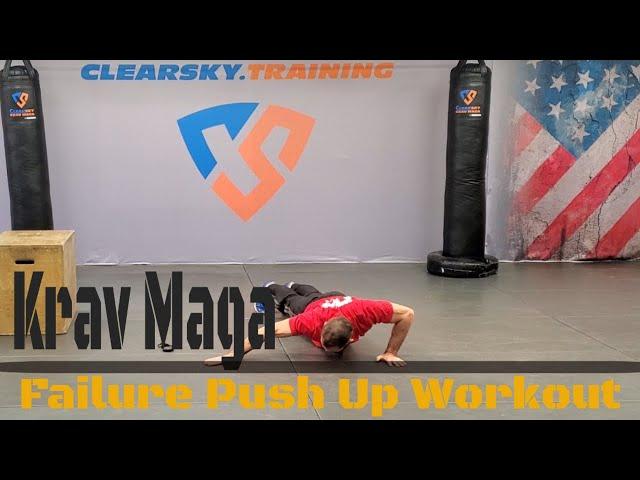 Krav Maga Push Up Workout | Follow Along
