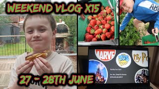 Weekend Vlog No 15 | 27th-28th June | Social Distancing