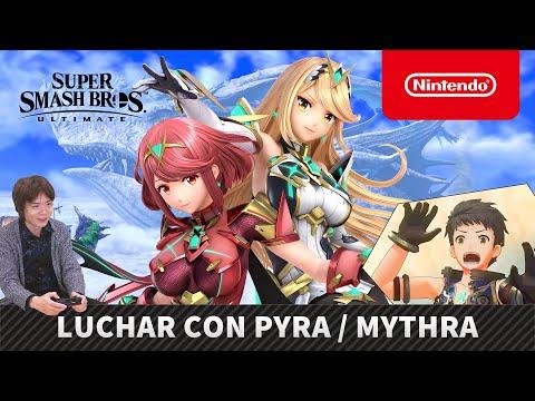 Super Smash Bros. Ultimate – Luchar con Pyra / Mythra (Nintendo Switch)