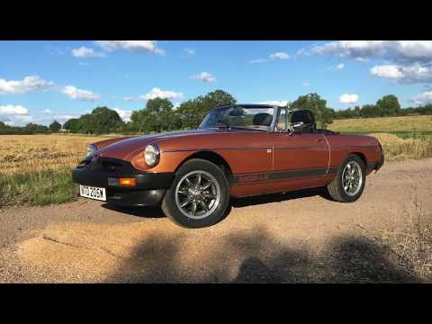 Expensive Lesson in classic car buying MGB Roadster LE