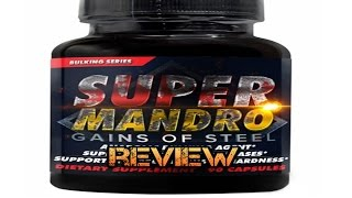 Super Mandro by Hard Rock Supplements Review (My Very First Prohormone!)