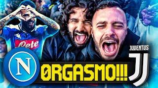 0RGASMO!!! NAPOLI 2-1 JUVENTUS | LIVE REACTION SAN PAOLO NAPOLETANI HD