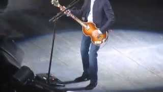 "Paul McCartney performs ""One After 909"" - Out There tour 2015 in Columbia, SC"