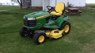 The best lawnmower review this side of the Mississippi - John Deere X730