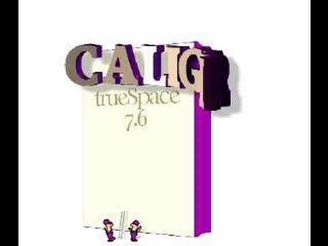 Caligari trueSpace 7.6