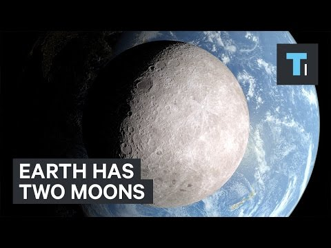 Earth has two moons