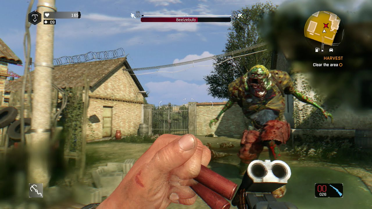 Dying Light  The Following DLC  Beelzebufo Fight Hot