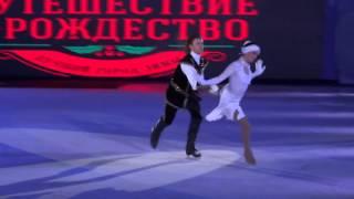 Ледовое шоу Щелкунчик на Фестивале Путешествие в рождество. Москва