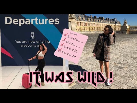 FIRST TIME SOLO TRAVELLER IN PARIS (VLOG) p.s i was so scared !!!